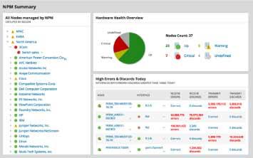 Network Performance Monitor Image