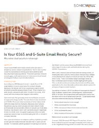Is Your 0365 and G-Suite Email Really Secure? Thumbnail
