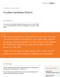 SonicWall and Crestline