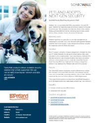 Petland Adopts SonicWall Security