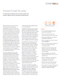 Hosted Email Security Thumbnail