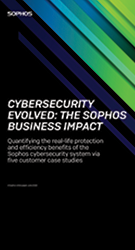 Cybersecurity Evolved: The Sophos Business Impact Image