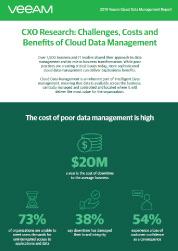Veeam Cloud Data Management Report