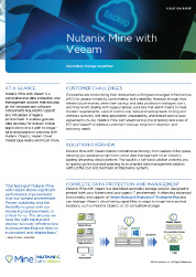 Nutanix with Veeam