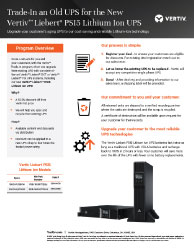 Vertiv Trade-In Program Thumbnail Image