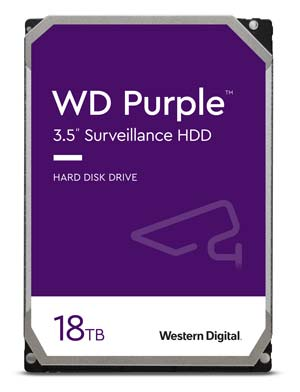 Purple Surveillance Hard Drive