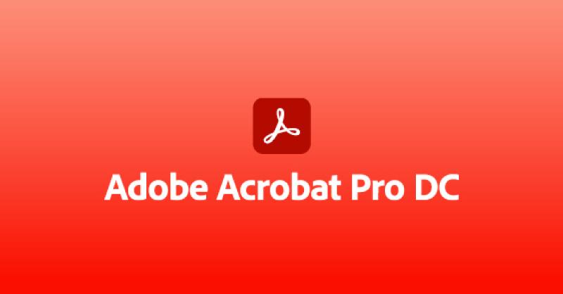 Adobe Acrobat Pro DC Graphic
