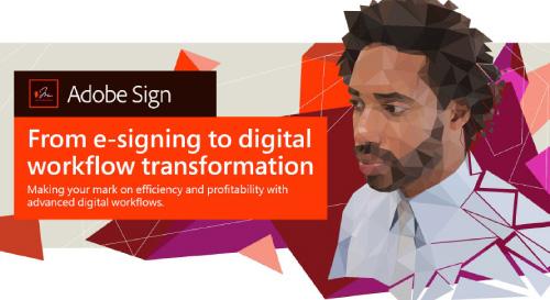 The Total Economic Impact of Adobe Sign PDF Thumbnail