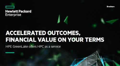 HPE GreenLake offer HPC as a service