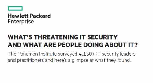What's Threatening IT Security and What are People Doing About it?