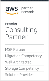 AWS Premier Consulting Partner, Storage Partner, MSP Partner, Public Sector Partner, Solution Provider