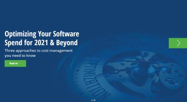 Optimizing Software Spend- eBook Thumbnail