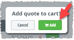 Add Quote Button