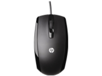 HP - mouse - USB - piano black