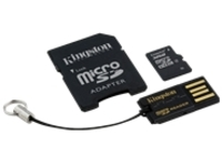 Kingston Multi-Kit / Mobility Kit - flash memory card - 32 GB - microSDHC