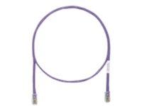 Panduit TX5e patch cable - 10 m - violet