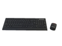 Lenovo Wireless Edge - keyboard and mouse set - Belgium / UK - English
