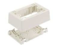 Panduit Pan-Way Power Rated Surface Mount Outlet Box - surface mount box