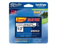 Brother TZe-2312PK - laminated tape - 2 roll(s) - Roll (1.2 cm x 8 m)