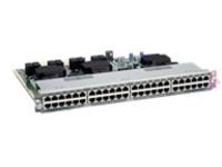 Cisco Catalyst 4500E Series Universal PoE Line Card - switch - 48 ports - plug-in module