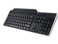 Dell KB-522 Wired Business Multimedia - keyboard - black, signature silver