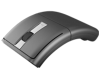 Lenovo N70A - mouse - 2.4 GHz - dark gray