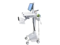 Ergotron StyleView EMR Cart with LCD Pivot, LiFe Powered - cart