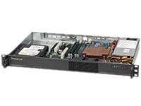 Supermicro SC510 203B - rack-mountable - 1U - micro ATX