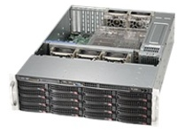 Supermicro SC836 TQ-R500B - rack-mountable - 3U