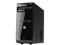 Image of HP Pro 3500 - Micro tower - 1 x Pentium G2120 / 3.1 GHz - RAM 4 GB - HDD 500 GB - DVD - HD Graphics - GigE...