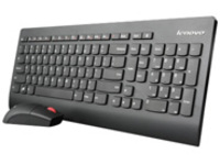 Lenovo Ultraslim Plus Wireless - keyboard and mouse set - English - US - black