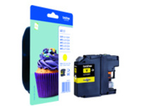 Brother LC123Y - High Yield - yellow - original - ink cartridge