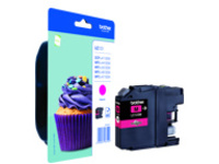 Brother LC123M - High Yield - magenta - original - ink cartridge