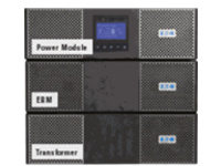 Eaton 9PX 9PX11KTF5 - UPS - 10 kW - 11000 VA - with 11 kVA Extended Battery Module, 11 kVA HotSwap Maintenance Bypass a…