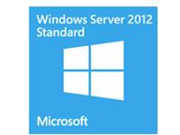 Image of Microsoft Windows Server 2012 Standard - license and media