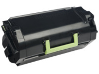 Lexmark 621 - black - original - toner cartridge - LCCP, LRP