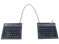 Kinesis Freestyle2 Blue - keyboard - US