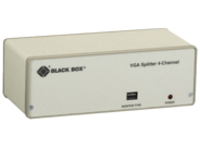 Black Box VGA Video Splitter 4-Channel - video splitter - 4 ports