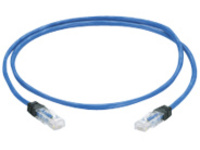 Panduit PanZone Cable Assemblies - patch cable - 0.3 m - blue