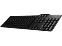 Dell Smart Card Keyboard KB-813 - keyboard - US - black