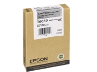 Epson T6059 - light light black - original - ink cartridge