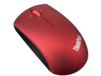 Lenovo ThinkPad Precision Wireless Mouse - mouse - 2.4 GHz - heatwave red