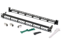 Panduit Patch Panel Kit - patch panel - 1U