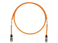 Panduit TX6A 10Gig patch cable - 50.3 m - orange