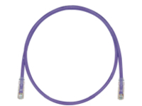 Panduit TX6 PLUS patch cable - 27.4 m - violet