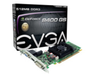 EVGA GeForce 8400 GS - graphics card - GF 8400 GS - 1 GB