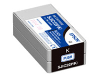 Epson SJIC22P(K) - black - original - ink cartridge