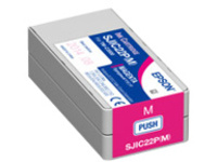 Epson SJIC22P(M) - magenta - original - ink cartridge