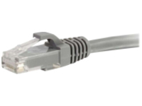 C2G 6ft Cat6a Snagless Unshielded (UTP) Network Patch Ethernet Cable-Gray - patch cable - 1.83 m - gray
