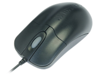 Seal Shield Silver Storm Waterproof - mouse - PS/2 - black